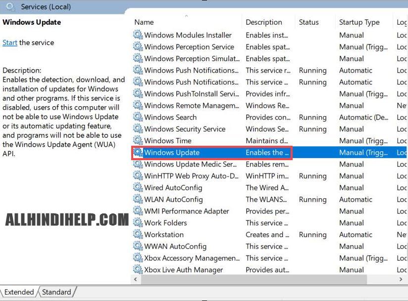 windows 10 me auto update off karne ka tarika