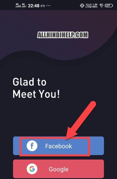 sign in vshots app