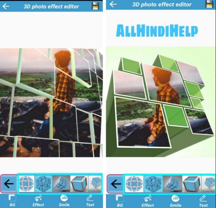 choose 3d background