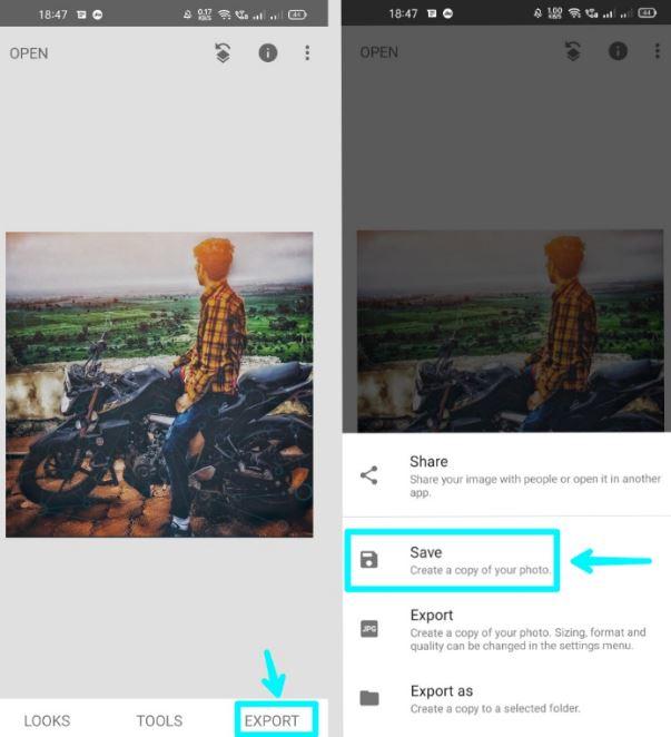 snapseed app me photo edit kaise karte hai